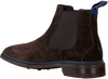 Bruine FLORIS VAN BOMMEL Chelsea boots 10669  - small