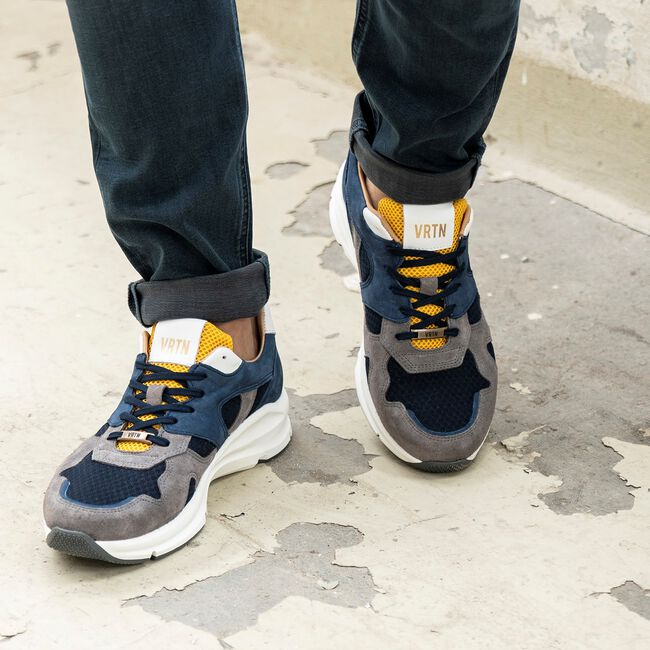 Grijze VERTON Sneakers 9325A  - large