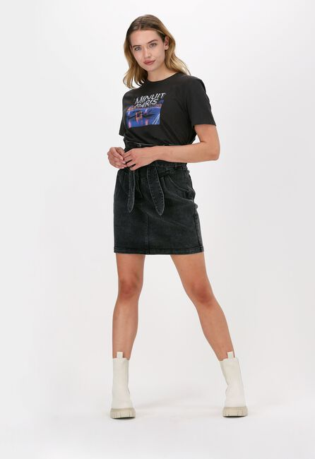 Zwarte SUNCOO T-shirt TSHIRT MANOS  - large