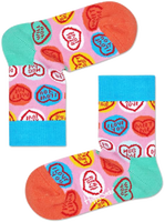 Roze HAPPY SOCKS Sokken SWEET HEART  - medium