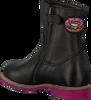 Zwarte BRAQEEZ Lange laarzen 417674  - small