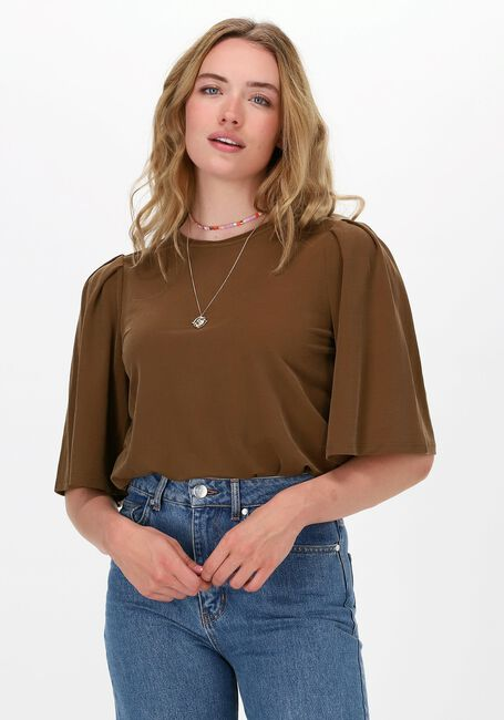Bruine OBJECT Top DIANE 2/4 TOP  - large
