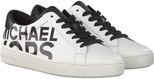 Zwarte MICHAEL KORS Sneakers IRVING LACE UP - large