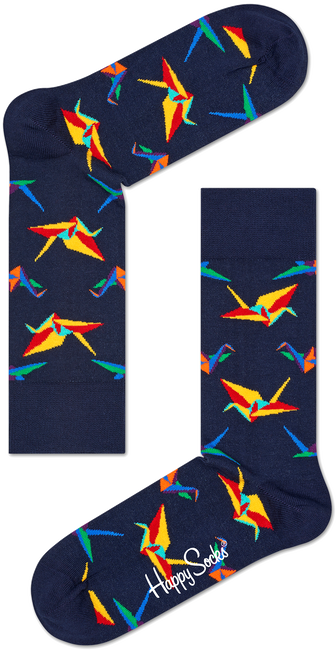 Blauwe HAPPY SOCKS Sokken ORI01 - large