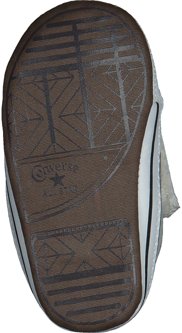 Witte CONVERSE Babyschoenen CRIBSTER CANVAS COLOR  - large