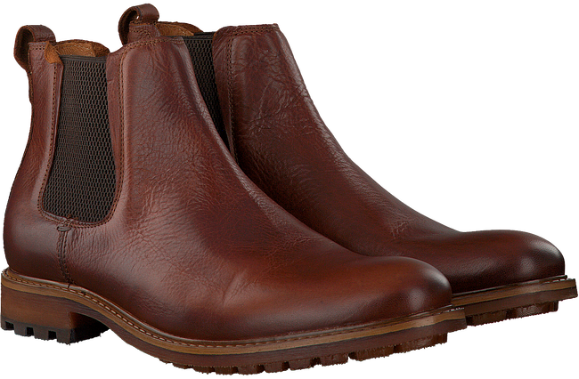 Cognac OMODA Chelsea boots MMOUTINHO637  - large