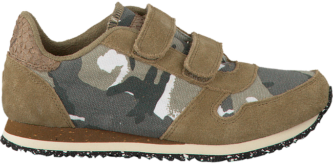 Groene WODEN WONDER Sneakers TOR CANVAS KIDS - large
