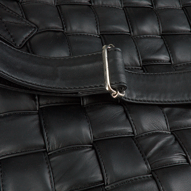 Zwarte DEPECHE Handtas 14532  - large