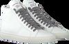 Witte P448 Hoge sneaker STAR WOMAN  - small
