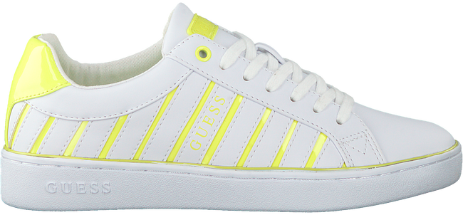 Witte GUESS Lage sneakers BOLIER