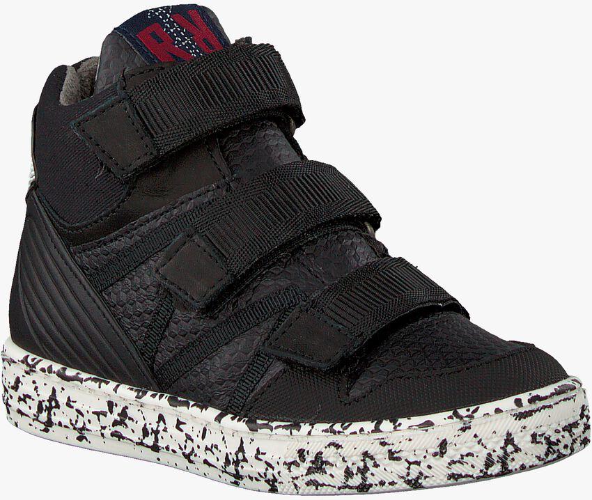 Zwarte RED-RAG Sneakers 13357  - larger