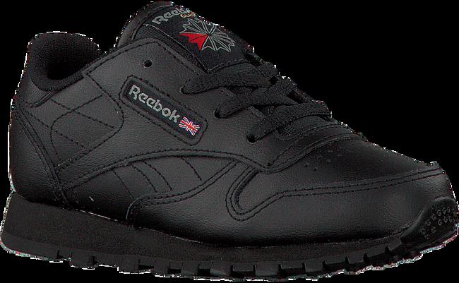 Zwarte REEBOK Sneakers CL LEATHER KIDS  - large