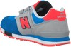 Grijze NEW BALANCE Sneakers KV574  - small