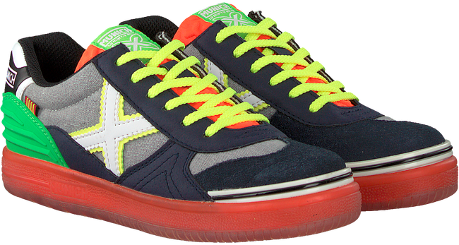 Blauwe MUNICH Lage sneakers G3 LACE  - large