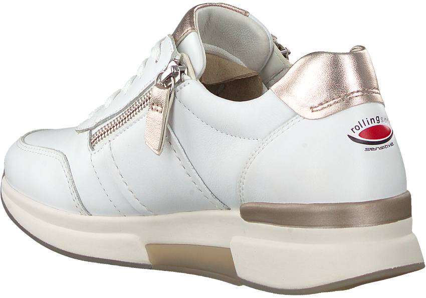 Witte GABOR Lage sneakers 928  - larger