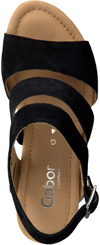 Zwarte GABOR Sandalen 825.1  - larger