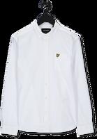 Witte LYLE & SCOTT Casual overhemd OXFORD SHIRT