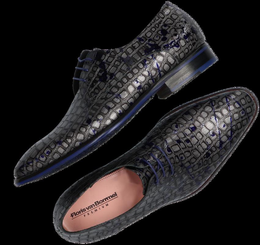 Grijze FLORIS VAN BOMMEL Nette schoenen 18268  - larger