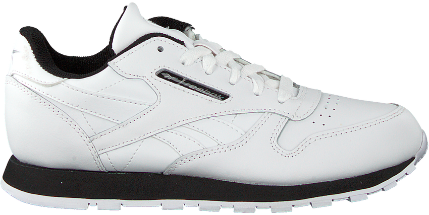 Witte REEBOK Lage sneakers CLASSIC LEATHER KIDS  - larger
