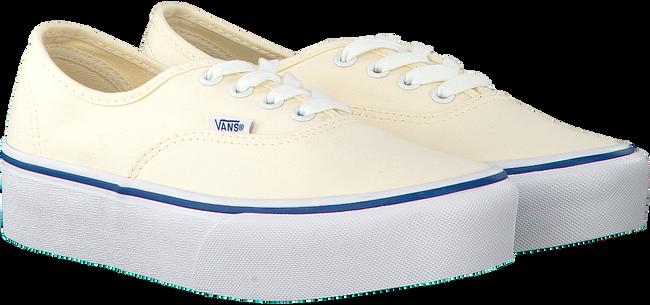 Witte VANS Sneakers AUTHENTIC PLATFORM WMN  - large