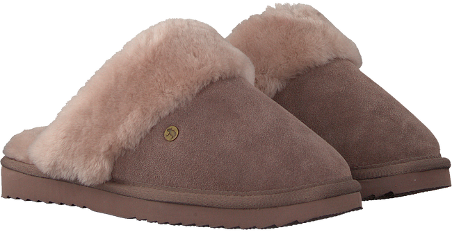 Taupe WARMBAT Pantoffels FLURRY  - large