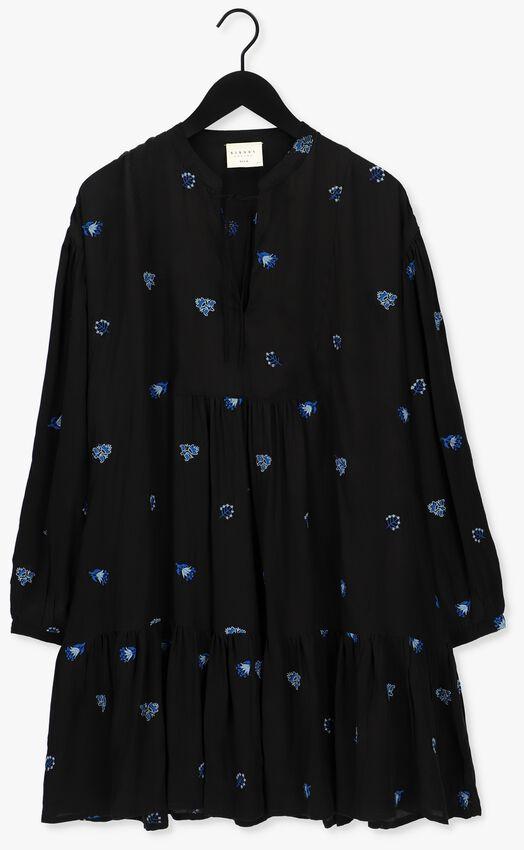 Zwarte SISSEL EDELBO Mini jurk MARYLIN NOIR SILK DRESS  - larger