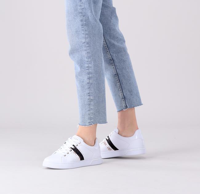 Witte GUESS Lage sneakers REEL  - large