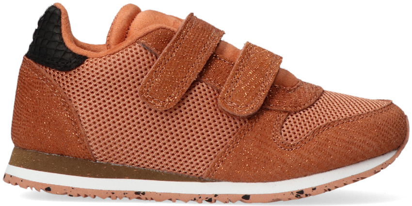 Bruine WODEN Lage sneakers SANDRA PEARL II - larger