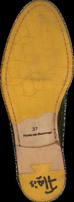 Gele FLORIS VAN BOMMEL Loafers 85409  - large