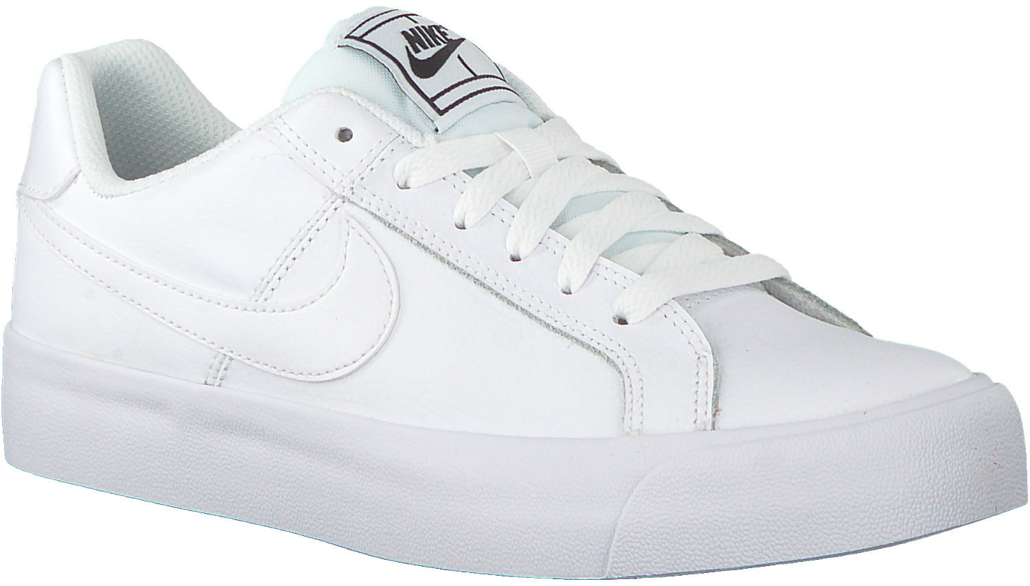 Witte NIKE Sneakers COURT ROYALE AC WMNS - Omoda.nl