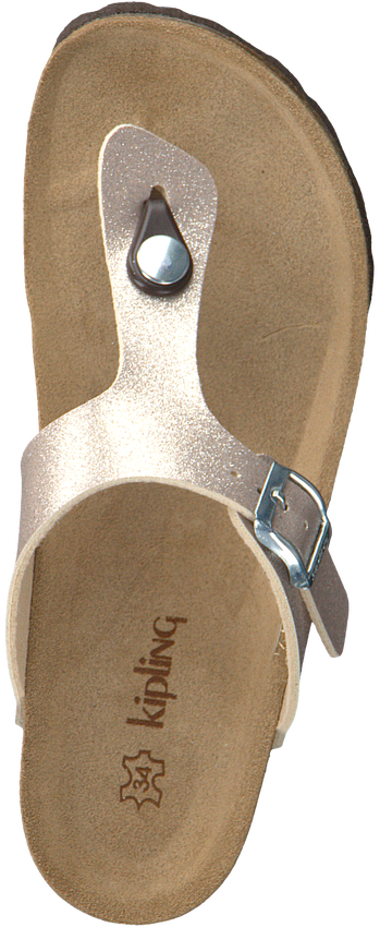 Gouden KIPLING Slippers MARIA 3 GY  - larger