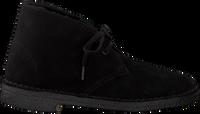 Zwarte CLARKS Veterschoen DESERT BOOT DAMES - medium
