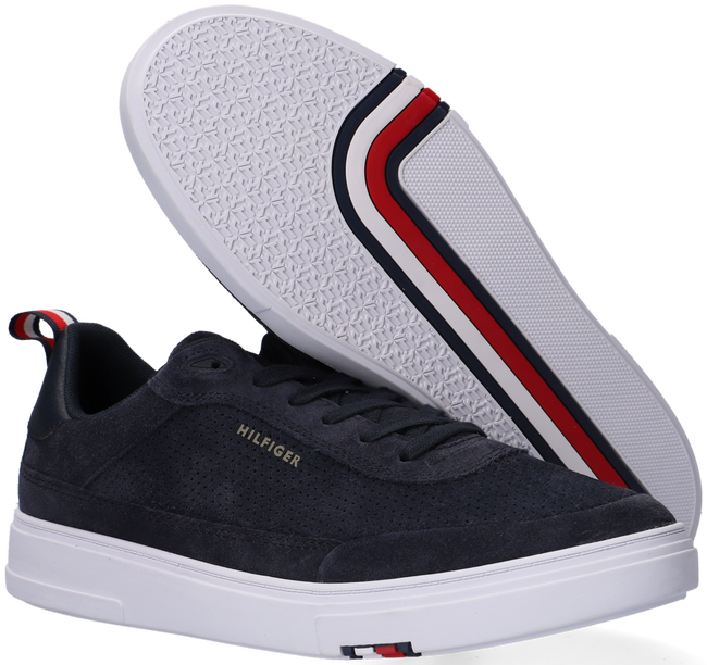 Blauwe TOMMY HILFIGER Lage sneakers MODERN CUPSOLE - large