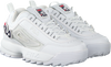 Witte FILA Sneakers DISRUPTOR II PATCHES WMN  - small