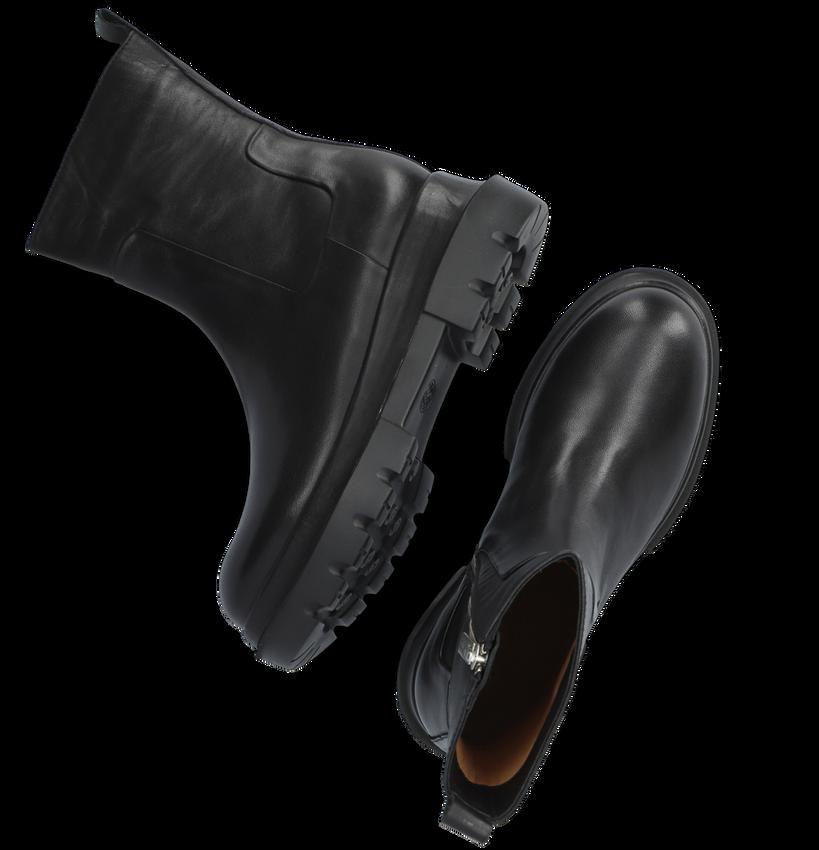 Zwarte SHABBIES Enkellaarsjes 182020328  - larger