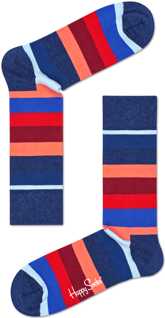 Multi HAPPY SOCKS Sokken STRIPE SOCK - large