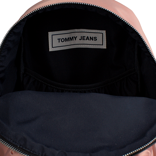 Roze TOMMY HILFIGER Rugtas LOGO MINI BACKPACK SATIN - large