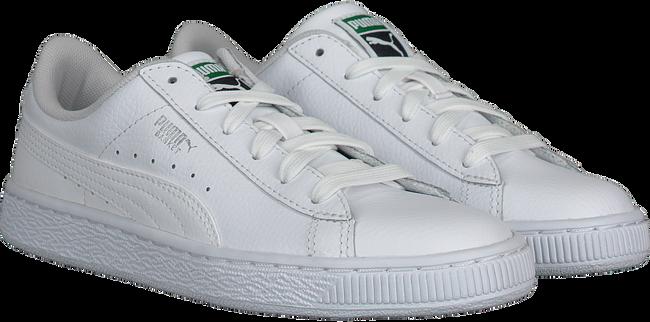 Witte PUMA Sneakers BASIC CLASSIC LFS KIDS  - large