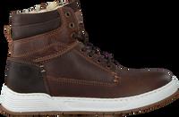Bruine OMODA Hoge sneaker A0F503E6L_BRWNOM  - medium