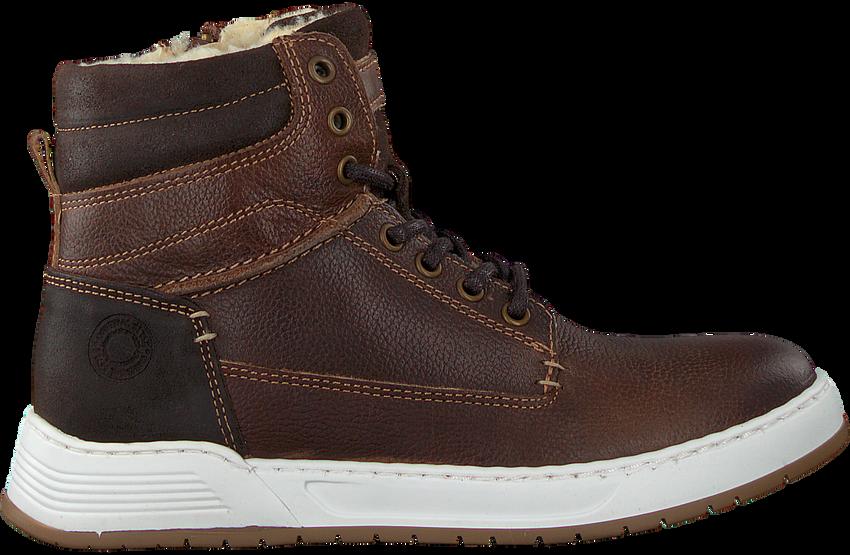Bruine OMODA Hoge sneaker A0F503E6L_BRWNOM  - larger