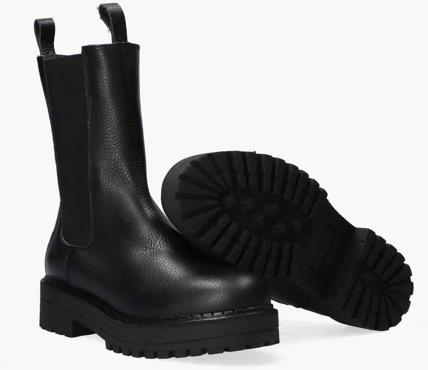 Zwarte CA'SHOTT Chelsea boots 24205  - larger