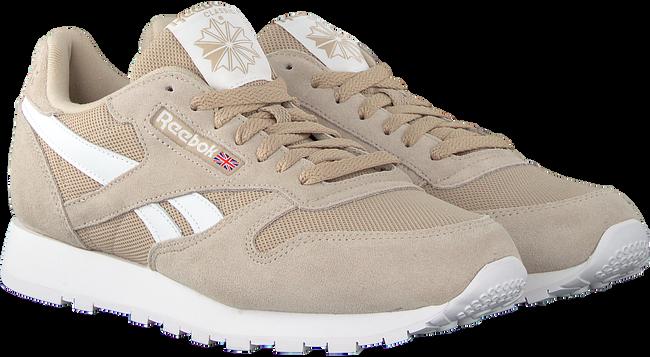 Beige REEBOK Sneakers CL LEATHER MU - large