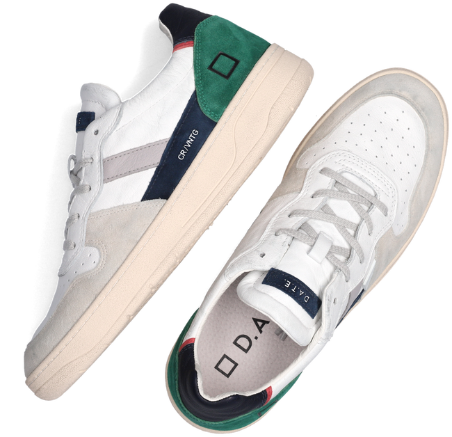 Witte D.A.T.E Lage sneakers COURT 2.0  - large