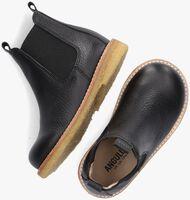 Zwarte ANGULUS Chelsea boots 9207-101  - medium