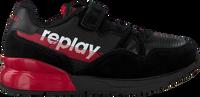 Zwarte REPLAY Lage sneakers SWAT  - medium