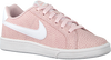 Roze NIKE Lage sneakers COURT ROYALE PREMIUM WMNS  - small