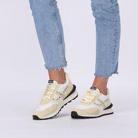 Pastelgele ASH Lage sneakers SPIDER STUD - medium