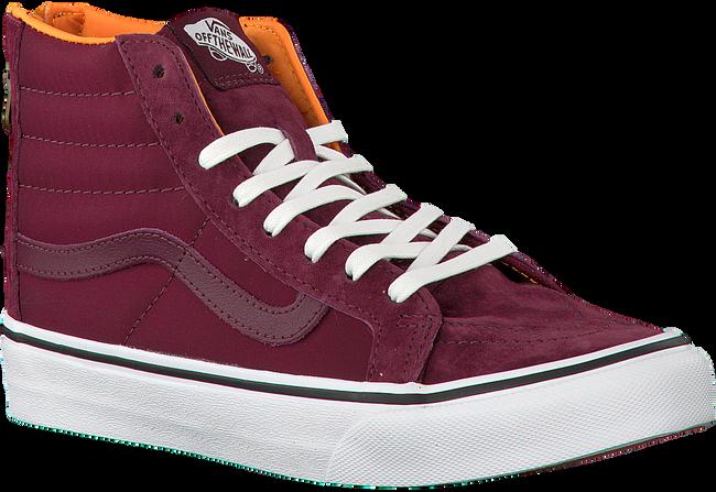 Rode VANS Sneakers SK8-HI SLIM ZIP  - large