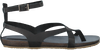 Zwarte RED RAG Sandalen 79094  - small