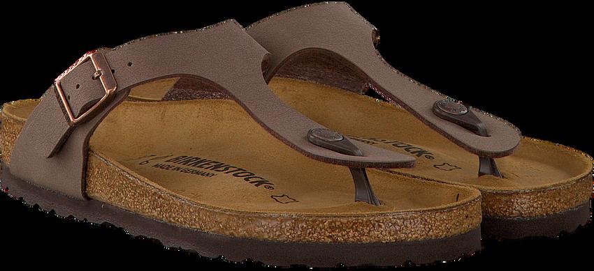 Bruine BIRKENSTOCK PAPILLIO Slippers GIZEH  - larger